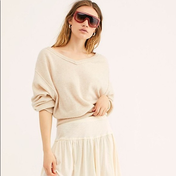 f56bad24e26 Free People Love Like This Cashmere Pullover